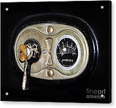 Model T Control Panel Acrylic Print by Al Powell Photography USA