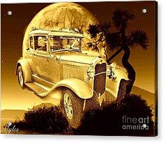 Model T Fantasy  Acrylic Print by Saundra Myles