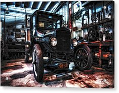 Model T In Hdr Acrylic Print by Michael White