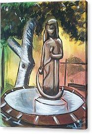 Modenian Fountain Acrylic Print