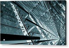 Modern Abstract Architecture Acrylic Print by Wladimir Bulgar