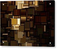 Modern Abstract Iv Acrylic Print by Lourry Legarde