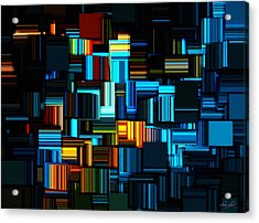 Modern Abstract V Acrylic Print