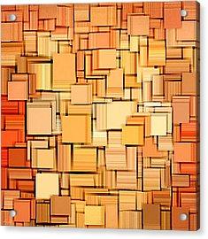 Modern Abstract Xvi Acrylic Print by Lourry Legarde