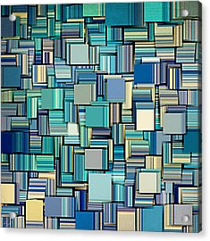 Modern Abstract Xxiv Acrylic Print by Lourry Legarde