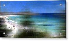 Modern-art Bondi Beach Acrylic Print