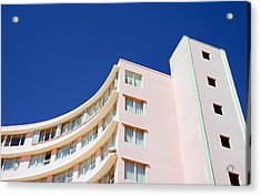 Modern Curves Acrylic Print by Keith Armstrong