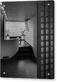 Modern Hallway Acrylic Print by Hedrich-Blessing