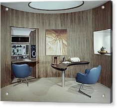 Modern Home Office Acrylic Print