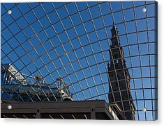 Acrylic Print featuring the photograph Modern Meets  by Paul Indigo