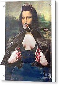 Modern Mona Acrylic Print