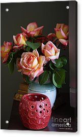 Acrylic Print featuring the photograph Modern Still Life by Tannis  Baldwin