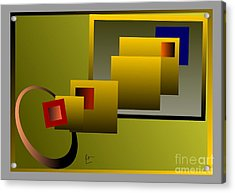 Modification Acrylic Print by Leo Symon