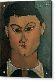 Modigliani Amedeo, Portrait Acrylic Print by Everett