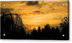 Modoc Sunrise Acrylic Print