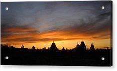 Modoc Sunset Acrylic Print