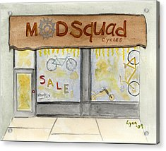 Modsquad Harlem Acrylic Print by AFineLyne