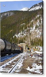 Moffat Tunnel East Portal At The Continental Divide In Colorado Acrylic Print