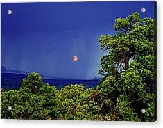 Mogollon Moon Acrylic Print