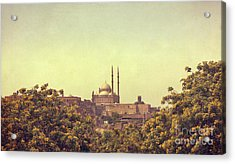 Acrylic Print featuring the photograph Mohamed Ali Mosque by Mohamed Elkhamisy