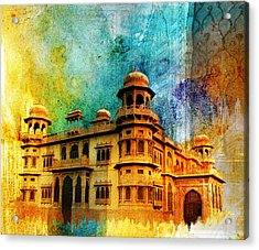 Mohatta Palace Acrylic Print by Catf