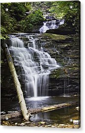 Mohican Falls Acrylic Print