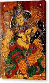 Mohini Acrylic Print by Saranya Haridasan