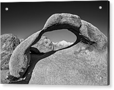 Moibus Arch At The Alabama Hills Acrylic Print