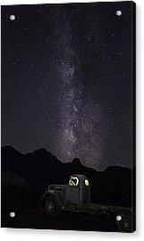 Mojave Milky Way Acrylic Print