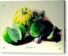 Mojito N.2 Acrylic Print by Alessandra Andrisani