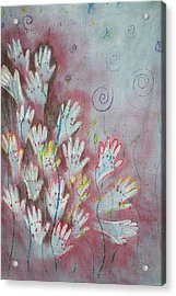 Mojo Praise Acrylic Print by Carrie Maurer