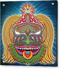 Moksha Master Acrylic Print by Chris Dyer