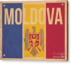 Moldova Acrylic Print by Megan