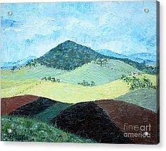 Mole Hill - Sold Acrylic Print