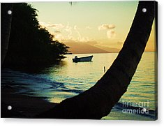 Molokai Beach Acrylic Print