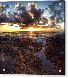 Molokai Sunset Acrylic Print
