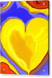 Molten Heart9 Acrylic Print