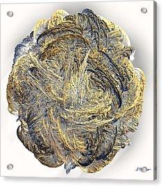Molten Acrylic Print by Michael Durst