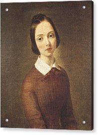 Molteni, Giuseppe 1800-1867. Portrait Acrylic Print
