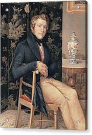 Molteni Giuseppe, Man Portrait In An Acrylic Print by Everett