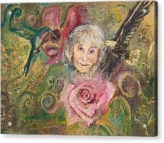 Mom Jeanne Acrylic Print