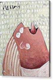Momentis  The Wailing Sisterg Sister Acrylic Print by Mark M  Mellon