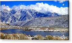 Acrylic Print featuring the photograph Mom's Old Benton Blues by Marilyn Diaz