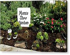 Moms Shoe Garden Acrylic Print