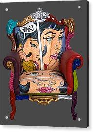 Mon Chair Acrylic Print