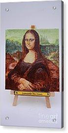 Mona Acrylic Print by Diana Bursztein