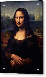 Mona Lisa II Acrylic Print by Karon Melillo DeVega