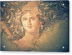 Mona Lisa Of The Galilee Acrylic Print by Photostock-israel