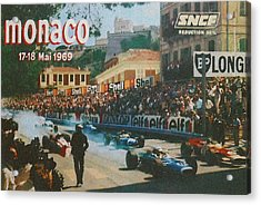 Monaco 1969 Acrylic Print