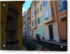 Monaco Alley Acrylic Print